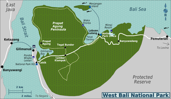 Bali-west-bali-national-park-map