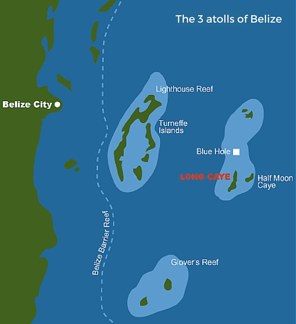The_3_atolls_of_belize