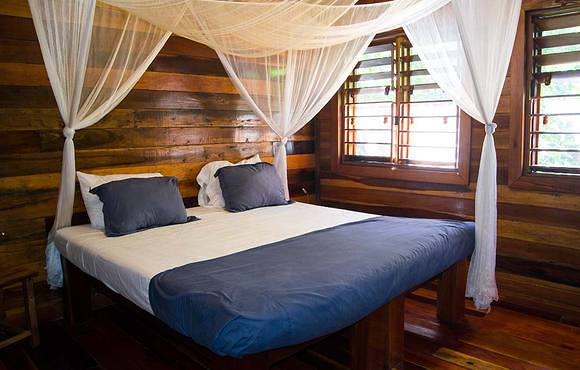 huracan dive resort belize Double bedroom