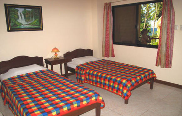 Double bed Wellbeach Dive Resort