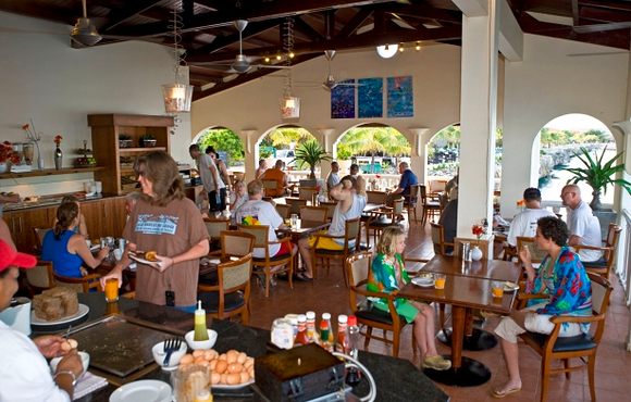 breakfast at buddy dive bonaire