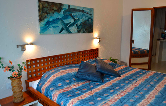queen room silberstein resort galapagos