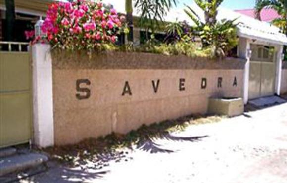 hotel entrance Savedra Beach Bungalows