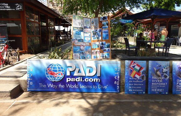 scuba dive center gili trawangan