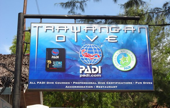 gili islands scuba dive