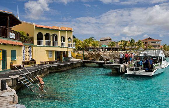 Dive and drive bonaire 6 days unl air 7 nights car - Bonaire dive resorts ...