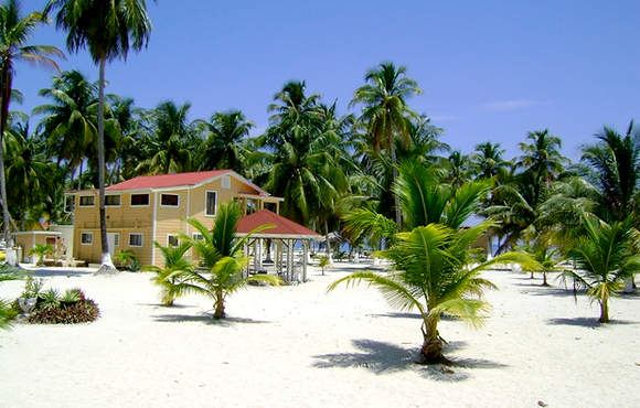 private beach south water caye belize
