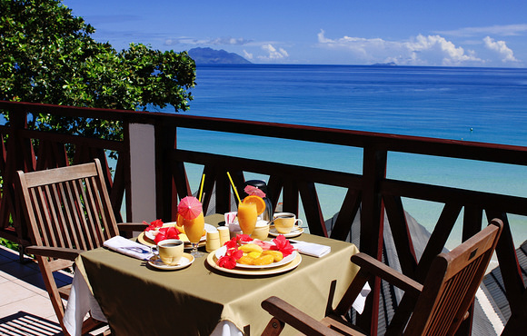 breakfast at coral strand hotel