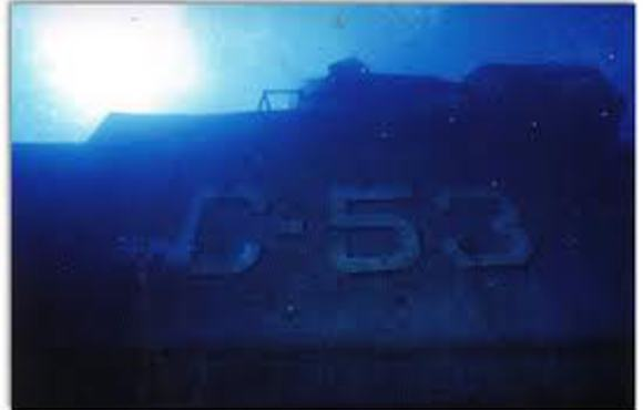 Wreck of the C53