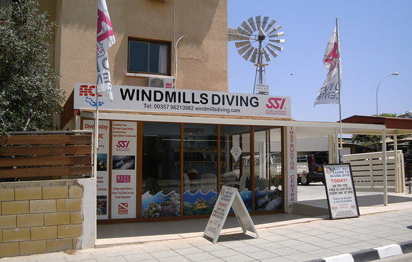 Windmills diving center cyprus
