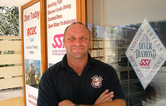Simon Banks Dive center owner