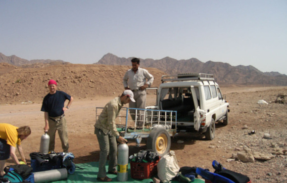 Desert dive safari