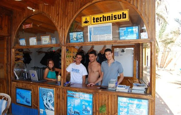 Adventure spot dive shop dahab