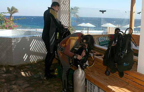 dive dahab with Lagona divers