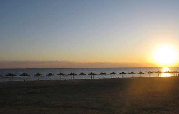 sunset  Marsa Alam