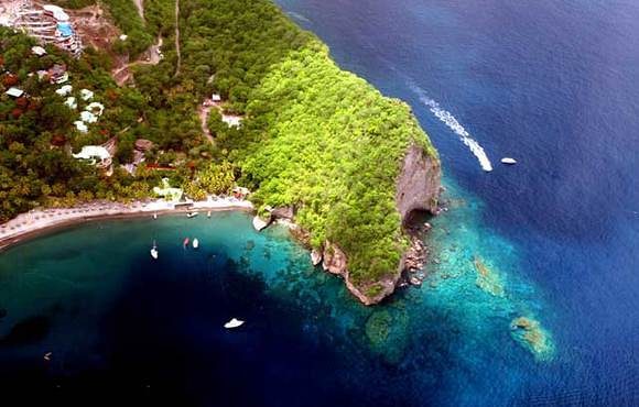 Aerial St. Lucia