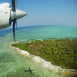 Arial of Lakshadweep