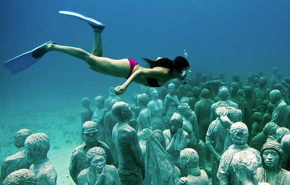 underwater museum mexico cancun