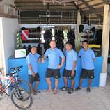Anda dive center staff