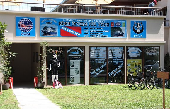Eden Divers Phuket Dive center
