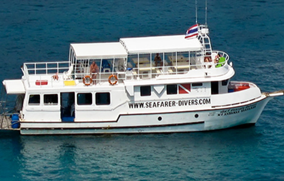 Thailand, The boat, Seafarer Divers Phuket