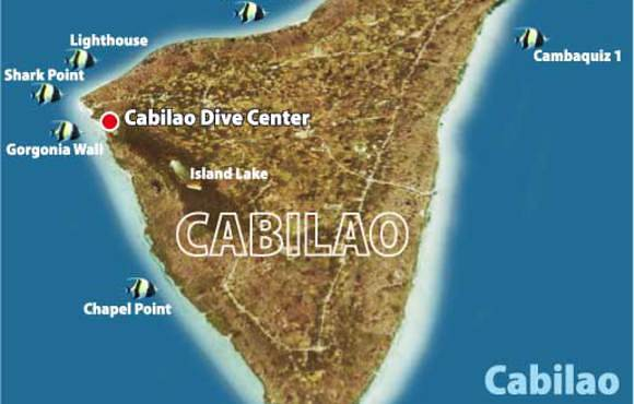 Cabilao dive sites