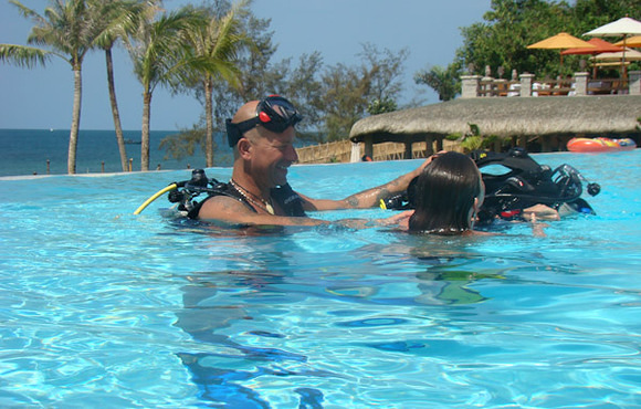 learn to dive Phu Quoc