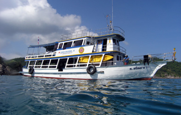 Dive Boat Easy divers Cha Weng, Koh Samui