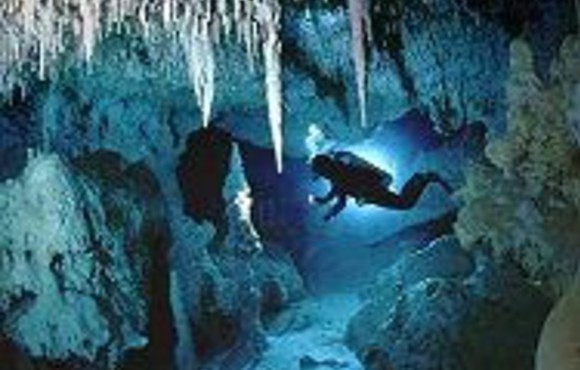 cave diving course playa