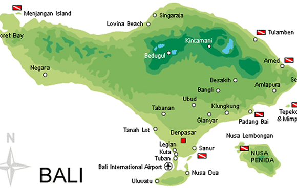 Bali Dive Sites