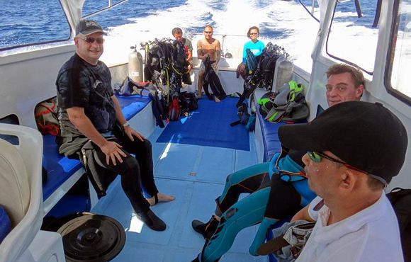 Boat diving D Scuba Club