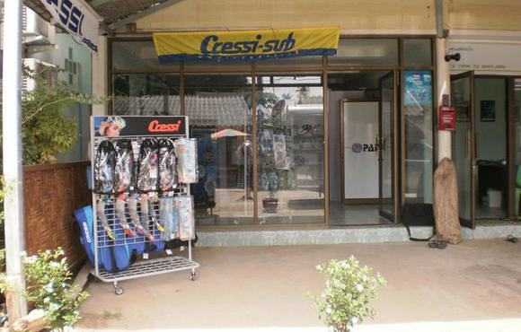 Dive shop Koh Lanta