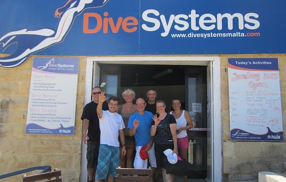 Scuba dive Malta with Dive Systems