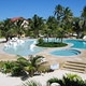 Portofino resort pool Ambergris Caye