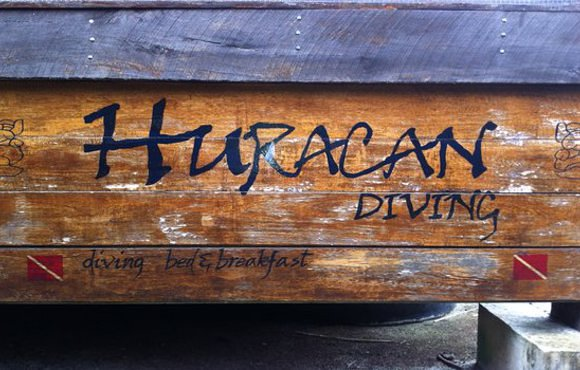 Huracan diving Long Caye