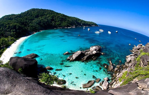 Similan Islands Elephant Rock