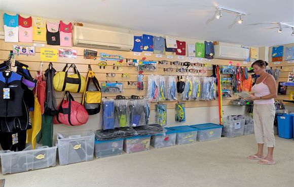 bonaire dive shop