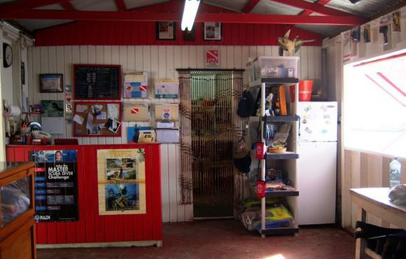 dive shop st eustatius