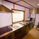 professional kitchen on infiniti live aboard  vessel