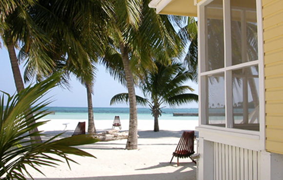 beach cabana belize