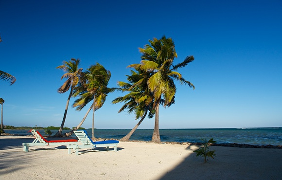 beach front belize