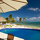 Pool at Black Bird Caye resort