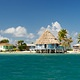 cabana at Black Bird Caye resort