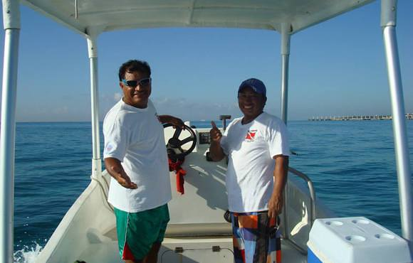 scuba dive boat captains