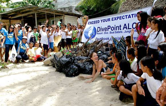 clean up scuba dive cebu