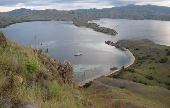 komodo national park view