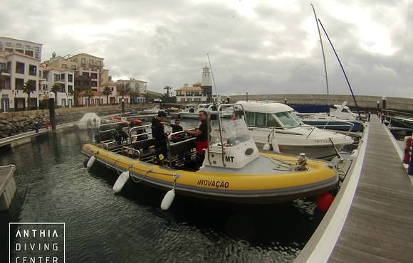 boat dive madeira