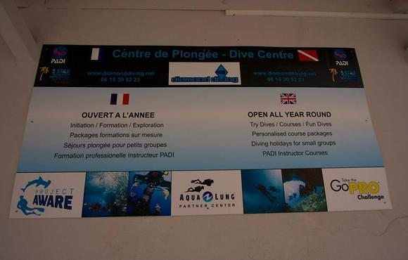 Diamond diving france
