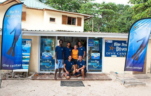 scuba dive center Seychelles