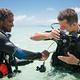 scuba dive instruction Seychelles